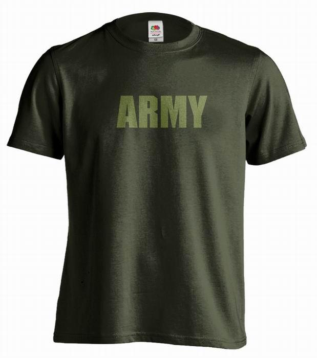 Pánské trièko - ARMY