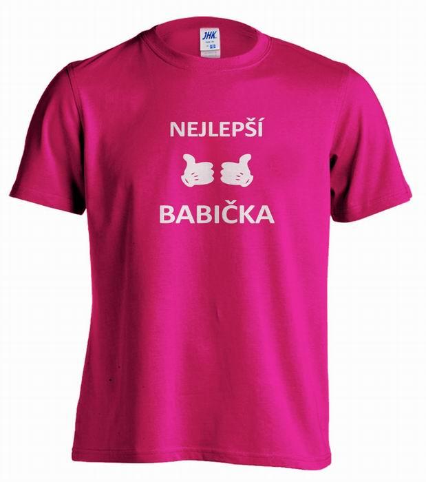 Dámské trièko - NEJLEPŠÍ BABIÈKA