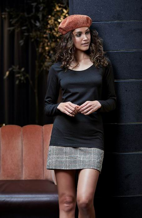 Dámské streèové trièko dl.rukáv Tee Extra Lenght - Výprodej